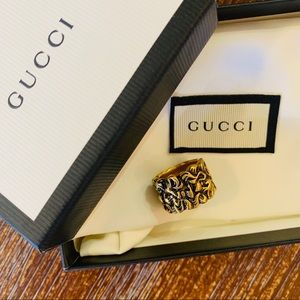 NEW GUCCI Lion Mane Ring